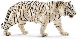 Figura de tigre blanco de Schleich - Los mejores muñecos de tigres - Figuras de tigrede animales