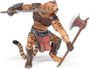 Figura de tigre mutante de Papo - Los mejores muñecos de tigres - Figuras de tigrede animales