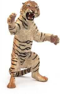 Figura de tigre rugido de Papo - Los mejores muñecos de tigres - Figuras de tigrede animales