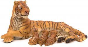 Figura de tigresa con crías de Papo - Los mejores muñecos de tigres - Figuras de tigrede animales