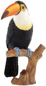 Figura de tucán de Bullyland - Los mejores muñecos de tucanes - Figuras de tucán de animales