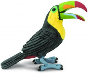 Figura de tucán de Safari - Los mejores muñecos de tucanes - Figuras de tucán de animales