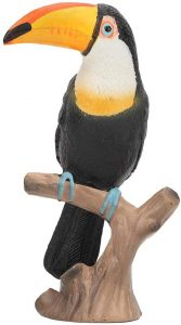 Figura de tucán de Zerodis - Los mejores muñecos de tucanes - Figuras de tucán de animales