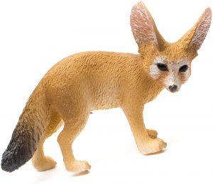 Figura de zorro del desierto de Collecta - Los mejores muñecos de zorros - Figuras de zorro de animales