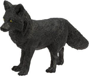 Figura de zorro negro de Schleich - Los mejores muñecos de zorros - Figuras de zorro de animales
