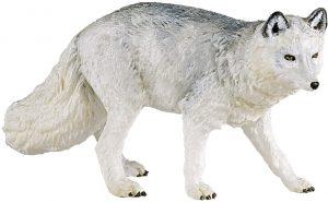Figura de zorro polar de Papo - Los mejores muñecos de zorros - Figuras de zorro de animales