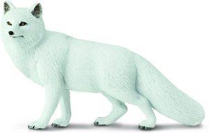 Figura de zorro polar de Safari 2 - Los mejores muñecos de zorros - Figuras de zorro de animales
