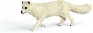 Figura de zorro polar de Schleich 2 - Los mejores muñecos de zorros - Figuras de zorro de animales