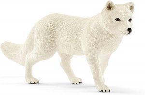 Figura de zorro polar de Schleich - Los mejores muñecos de zorros - Figuras de zorro de animales