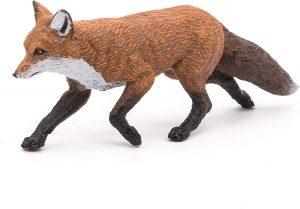 Figura de zorro rojo de Papo - Los mejores muñecos de zorros - Figuras de zorro de animales