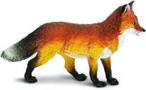 Figura de zorro rojo de Safari - Los mejores muñecos de zorros - Figuras de zorro de animales