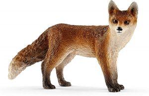 Figura de zorro rojo de Schleich - Los mejores muñecos de zorros - Figuras de zorro de animales