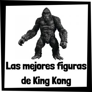 Figuras baratas de gorila King Kong - Las mejores figuras de colección de gorila