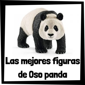 Figuras de Oso panda