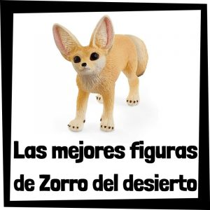 Figuras de Zorro del desierto