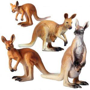Figuras de canguro - Los mejores muñecos de canguros - Figuras de canguro de animales