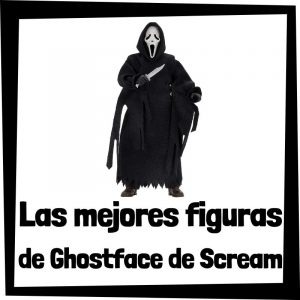 Figuras coleccionables de Ghostface de Scream