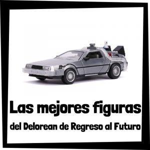 Figuras del Delorean de Regreso al Futuro
