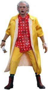 Hot Toys de Doc Brown de Regreso al futuro - Los mejores muñecos de Back to the future - FIguras de Regreso al Futuro
