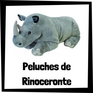 Peluches baratos de Rinoceronte - Las mejores figuras de colección de Rinoceronte
