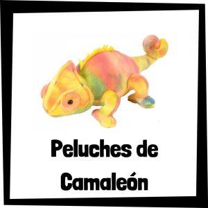 Peluches baratos de camaleón - Las mejores figuras de colección de camaleón