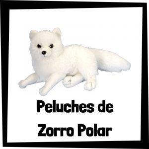 Peluches baratos de zorro polar - Las mejores figuras de colección de zorro polar