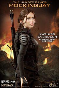 Sideshow de Katniss Everdeen - Los mejores muñecos de los Juegos del Hambre - Figuras de Hunger Games