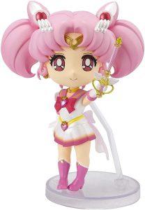 Figura de Chibi Moon de TAMASHII NATIONS de Sailor Moon - Las mejores figuras de Sailor Moon - Muñecos de animes