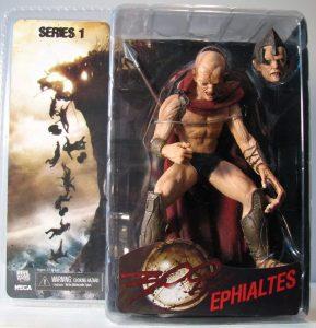 Figura de Ephialtes de 300 de NECA - Los mejores muñecos de 300 - Figuras de 300 de películas