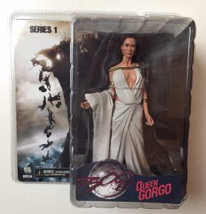Figura de Queen Gorgo de 300 de NECA - Los mejores muñecos de 300 - Figuras de 300 de películas