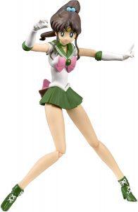 Figura de Sailor Jupiter de Bandai Tamashii Nations de Sailor Moon - Las mejores figuras de Sailor Moon - Muñecos de animes