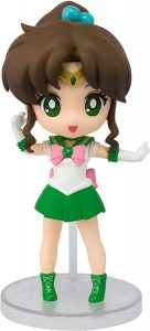 Figura de Sailor Jupiter de Bandai de Sailor Moon Mini - Las mejores figuras de Sailor Moon - Muñecos de animes