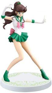 Figura de Sailor Jupiter de Banpresto de Sailor Moon - Las mejores figuras de Sailor Moon - Muñecos de animes