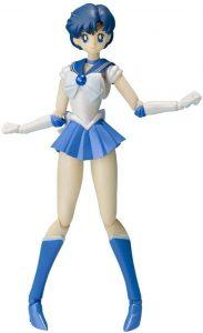 Figura de Sailor Mercury de Bandai 2 de Sailor Moon - Las mejores figuras de Sailor Moon - Muñecos de animes