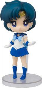 Figura de Sailor Mercury de Bandai de Sailor Moon Mini - Las mejores figuras de Sailor Moon - Muñecos de animes