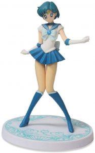 Figura de Sailor Mercury de Q Posket de Sailor Moon - Las mejores figuras de Sailor Moon - Muñecos de animes
