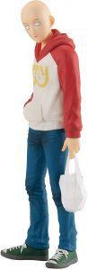 Figura de Saitama Oppai Hoodie de Good Smiler Company de One Punch Man - Las mejores figuras de One Punch Man - Muñecos de animes