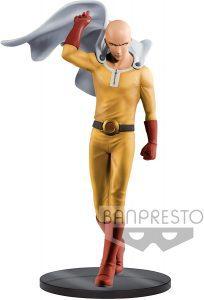 Figura de Saitama de Banpresto 4 de One Punch Man - Las mejores figuras de One Punch Man - Muñecos de animes