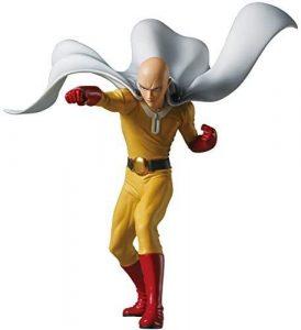 Figura de Saitama de Banpresto 5 de One Punch Man - Las mejores figuras de One Punch Man - Muñecos de animes