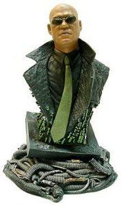 Figura de busto de Morfeo de Matrix de Gentle Giant - Los mejores muñecos de Matrix - Figuras de Matrix de películas