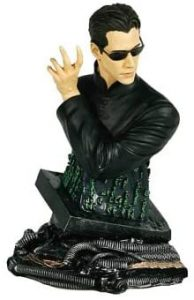 Figura de busto de Neo de Matrix de Gentle Giant - Los mejores muñecos de Matrix - Figuras de Matrix de películas