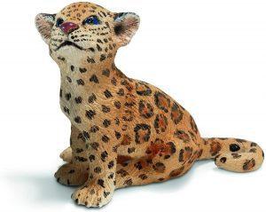 Figura de cría de jaguar de Schleich - Los mejores muñecos de jaguares - Figuras de jaguar de animales