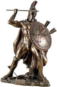 Figura de leonidas de 300 de Veronese - Los mejores muñecos de 300 - Figuras de 300 de películas
