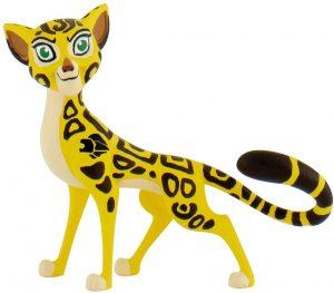 Figura de leopardo de Bullyland - Los mejores muñecos de leopardos - Figuras de leopardo de animales