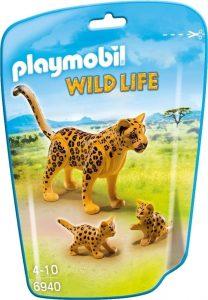 Figura de leopardo de Playmobil - Los mejores muñecos de leopardos - Figuras de leopardo de animales