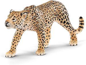 Figura de leopardo de Schleich - Los mejores muñecos de leopardos - Figuras de leopardo de animales