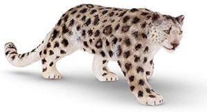 Figura de leopardo de las nieves de Recur - Los mejores muñecos de leopardos - Figuras de leopardo de animales