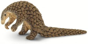 Figura de pangolín de Safari - Los mejores muñecos de armadillos - Figuras de armadillo de animales