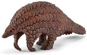 Figura de pangolín de Schleich - Los mejores muñecos de armadillos - Figuras de armadillo de animales