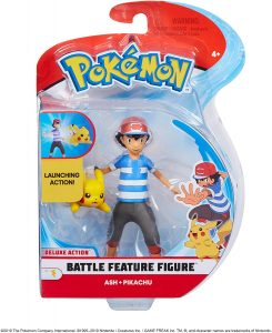 Figura de Ash y Pikachu 2 - Los mejores muñecos y figuras de Pikachu - Muñeco de Pokemon